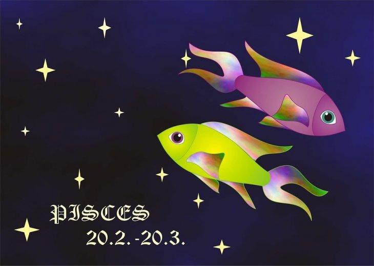 Signo de Piscis. | Imagen tomada de: Max Pixel