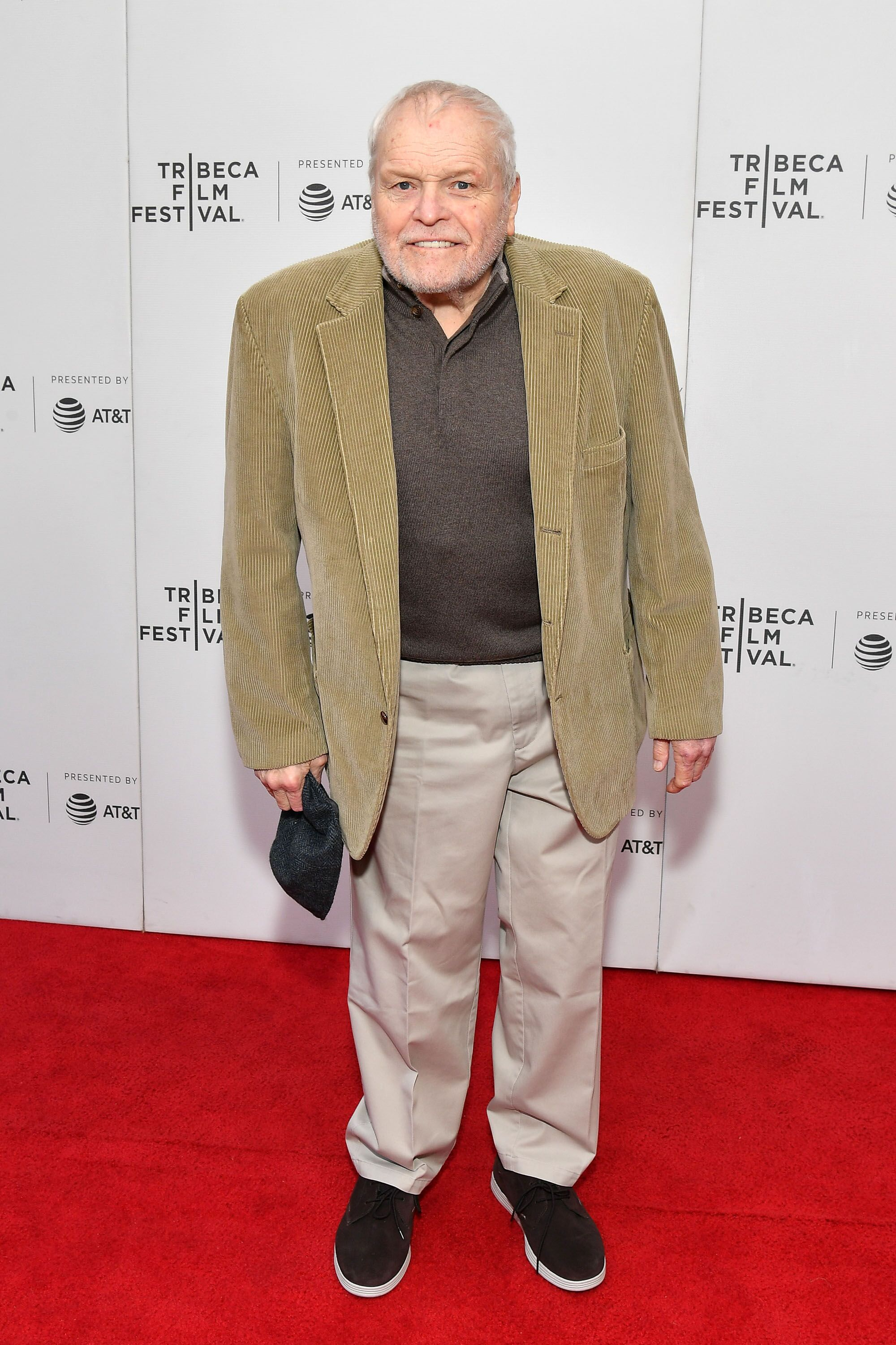 """Brian Dennehy attends the """"Driveways"""" screening during the 2019 Tribeca Film Festival at Village East Cinema on April 30, 2019 in New York City 