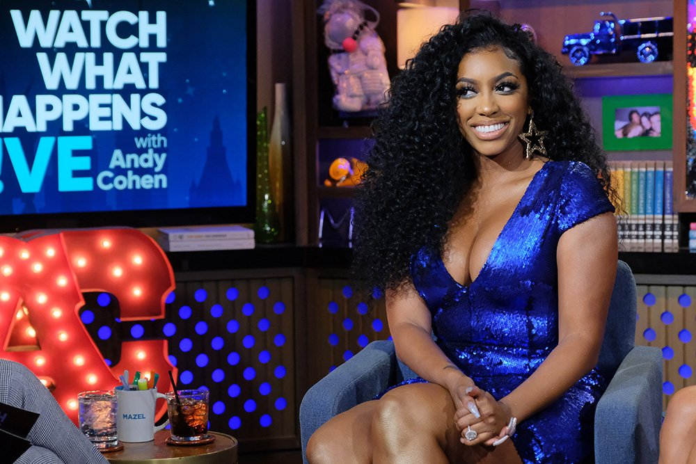 """Porsha Williams photographed at the set of """"Watch What Happens Live with Andy Cohen"""" in New York City in January 2020. I Image: Getty Images."""