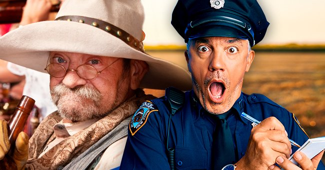 Daily Joke: A Policeman Comes to Check an Old Farmer's Property
