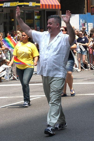 Daniel J. O'Donnell attends the 2010 New York City Gay Pride March on the streets of Manhattan on June 27, 2010, in New York City. | Source: Getty Images.