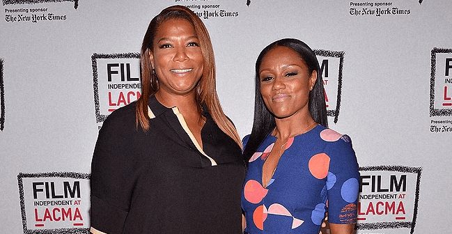 LoveBScott: Queen Latifah and Rumored Partner Eboni Nichols Have Reportedly Named Their Son Rebel