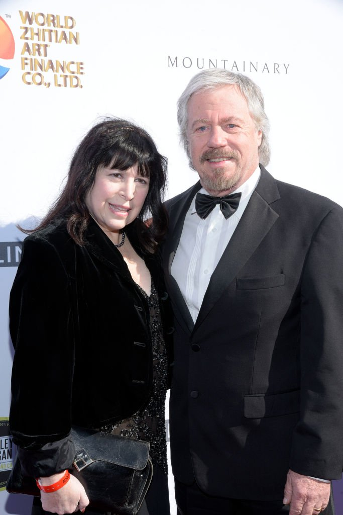 Stanley Livingston and wife Paula Drake. I Image: Getty Images.