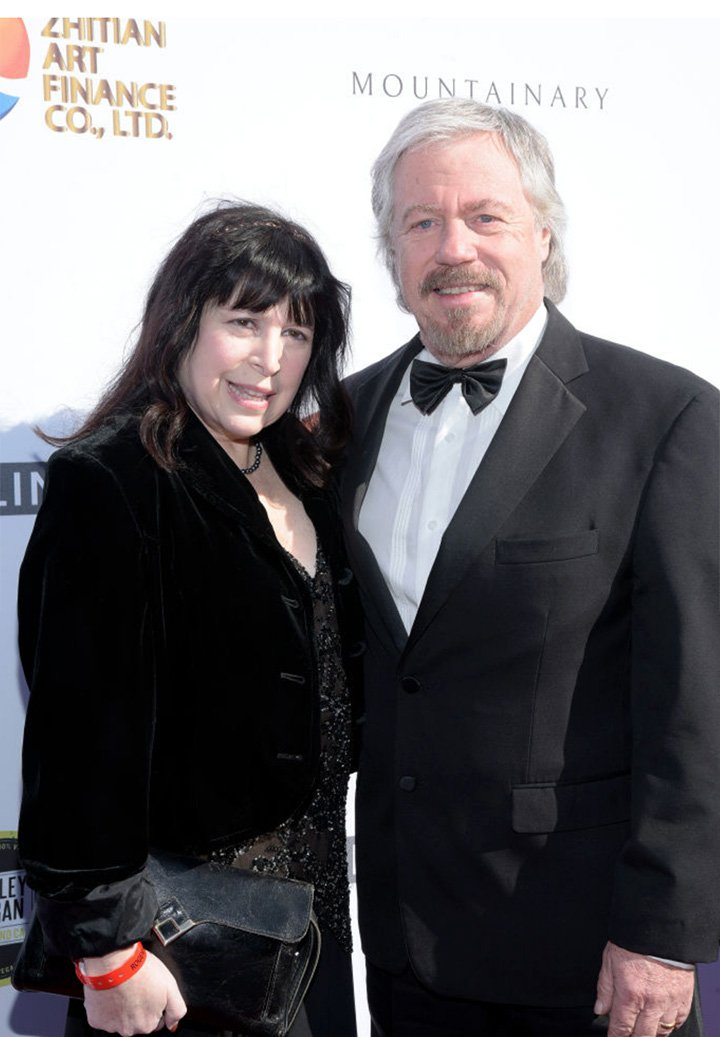 Stanley Livingston and his wife Paula Drake. I Image: Getty Images.