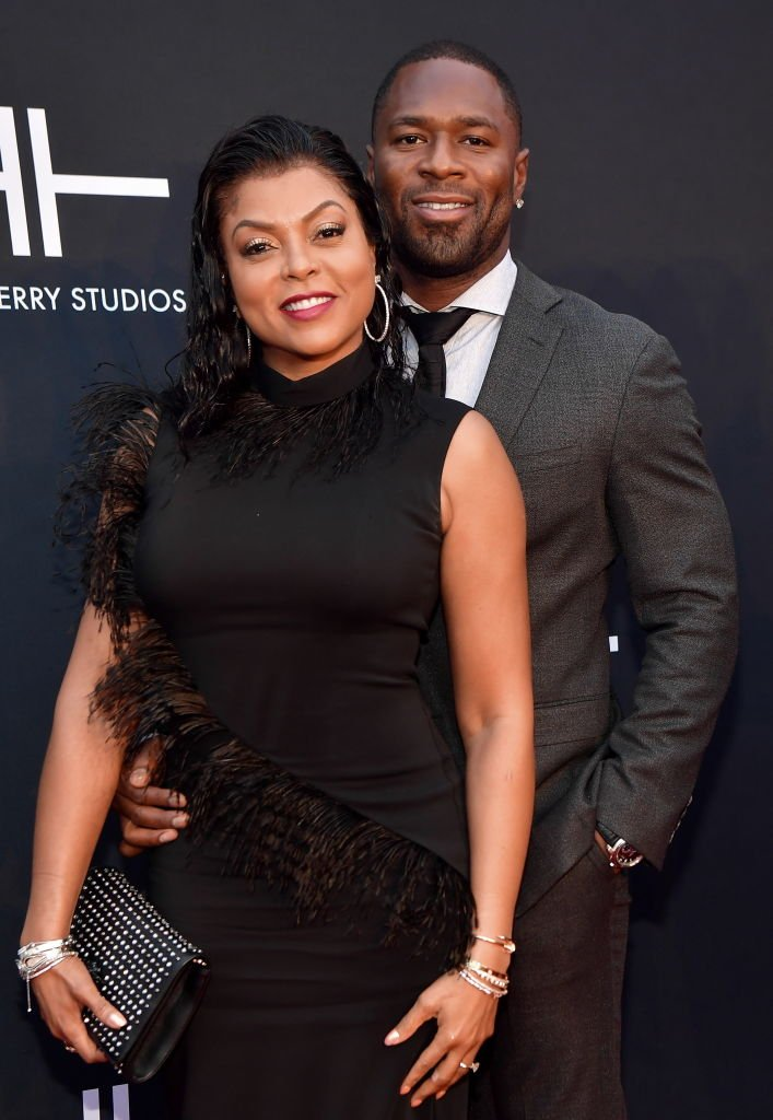 Taraji Henson and Kelvin Hayden attend Tyler Perry Studios Grand Opening Gala - Arrivals at Tyler Perry Studios | Photo: Getty Images