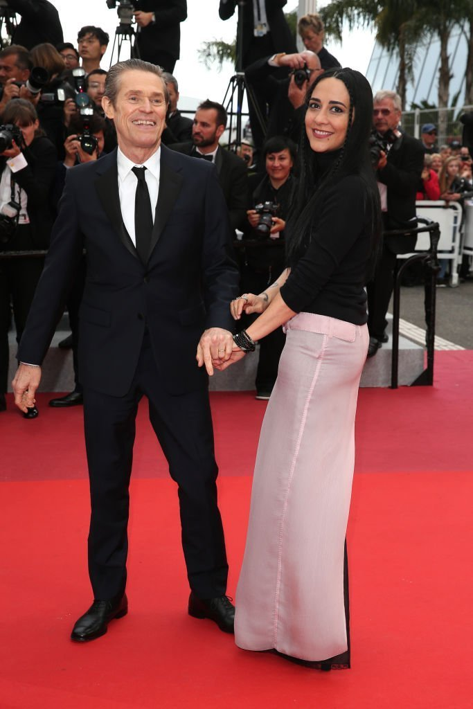 "Willem Dafoe and his wife Giada Colagrande attend the screening of ""La Belle Epoque"" during the 72nd annual Cannes Film Festival. 