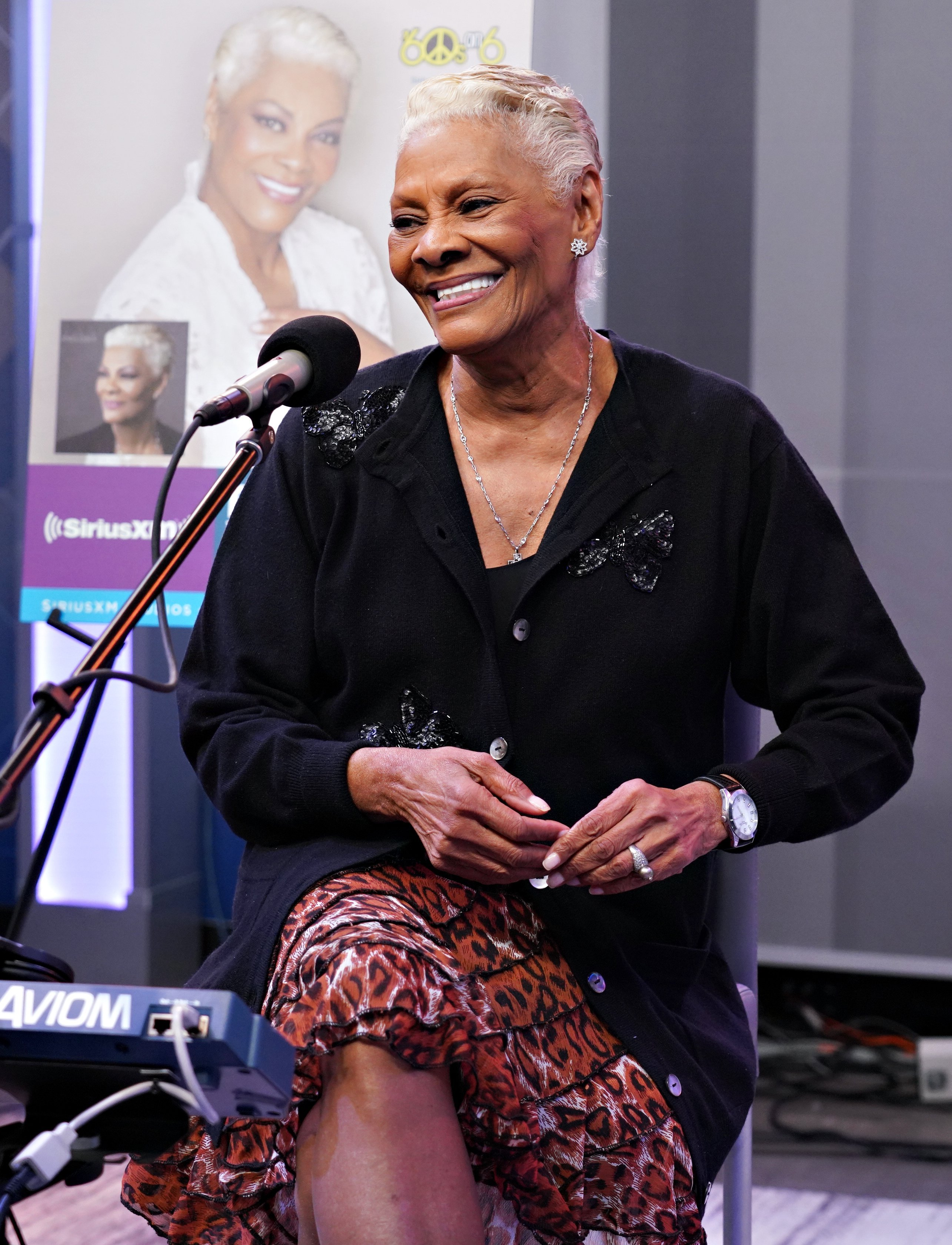 Dionne Warwick performing on SiriusXM's Soul Town channel in March 2019. | Photo: Getty Images