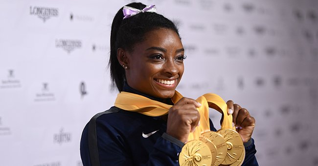 Here's How Simone Biles Celebrated National Gymnastics Day — See the Surprise Video She Shared