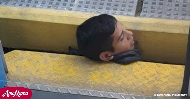 Dramático rescate de chico que quedó atrapado entre el tren y el andén es grabado en video