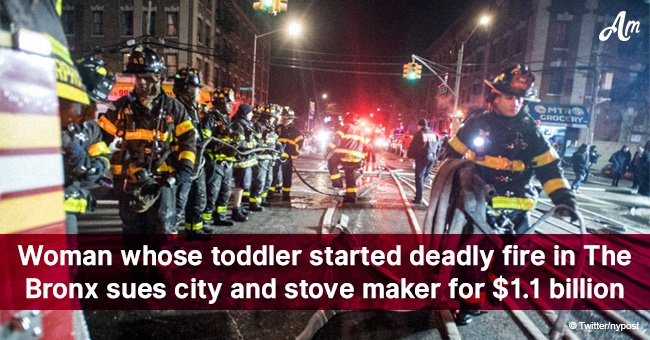 Woman whose toddler started deadly fire in The Bronx sues city and stove maker for $1.1 billion