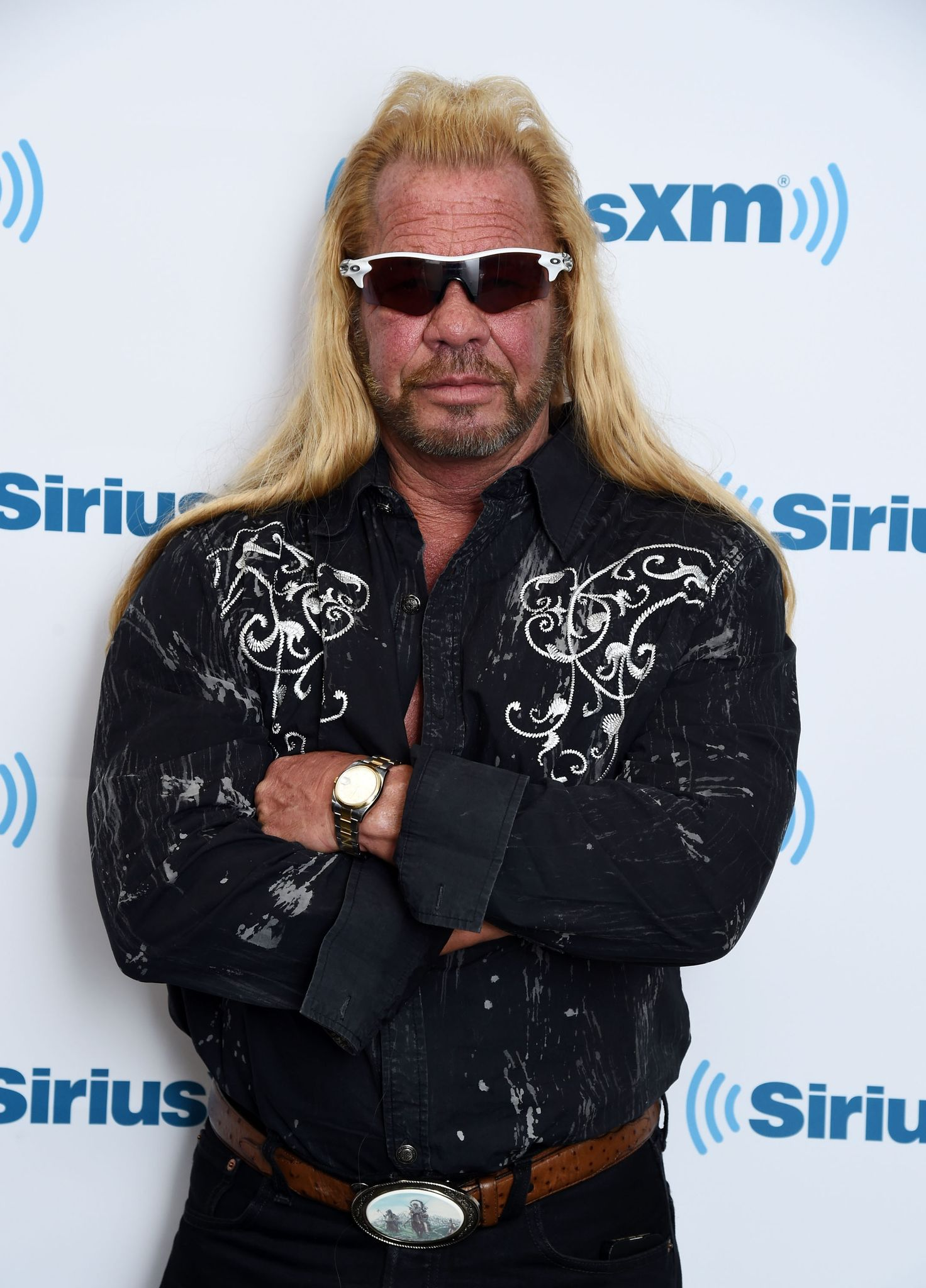 Dog the Bounty Hunter, Duane Chapman visits the SiriusXM Studios on April 24, 2015 in New York City.   Photo: Getty Images
