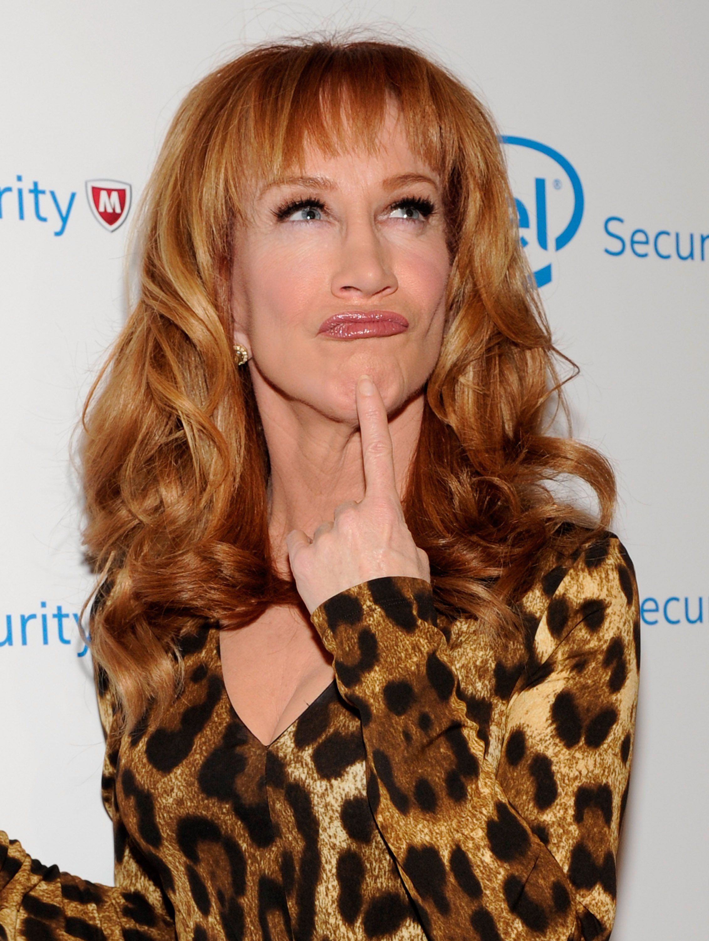 Kathy Griffin attends the McAfee's Digital Selves Event in Las Vegas, Nevada on January 7, 2014 | Photo: Getty Images