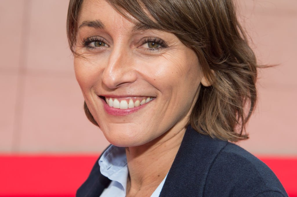 Amandine Bégot le 13 septembre 2017 à Paris. l Source : Getty Images