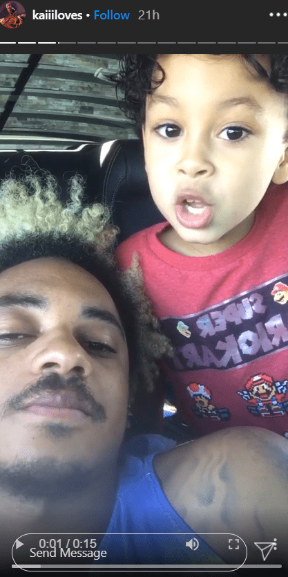 Corde with his son on Instagram | Photo: Instagram/kaiiiloves