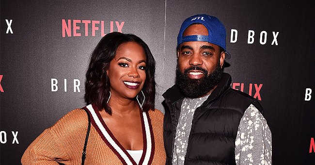 Kandi Burruss' Stepdaughter Kaela Flaunts Her Slim Figure in an Animal-Print Maxi Dress