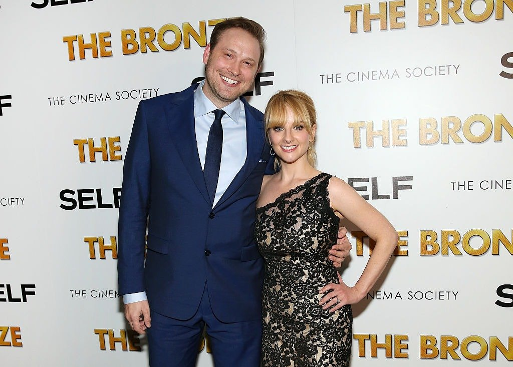 """Winston Rauch and Melissa Rauch attend The Cinema Society & SELF host a screening of Sony Pictures Classics' """"The Bronze"""" at Metrograph on March 17, 2016   Photo: Getty Images"""