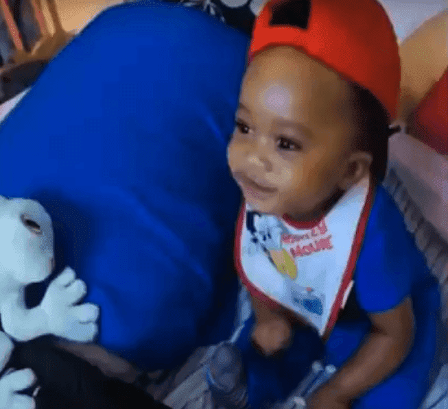 Paxon Davis, the 1 year old severely assaulted by his babysitter | Photo: YouTube/ News Live Now