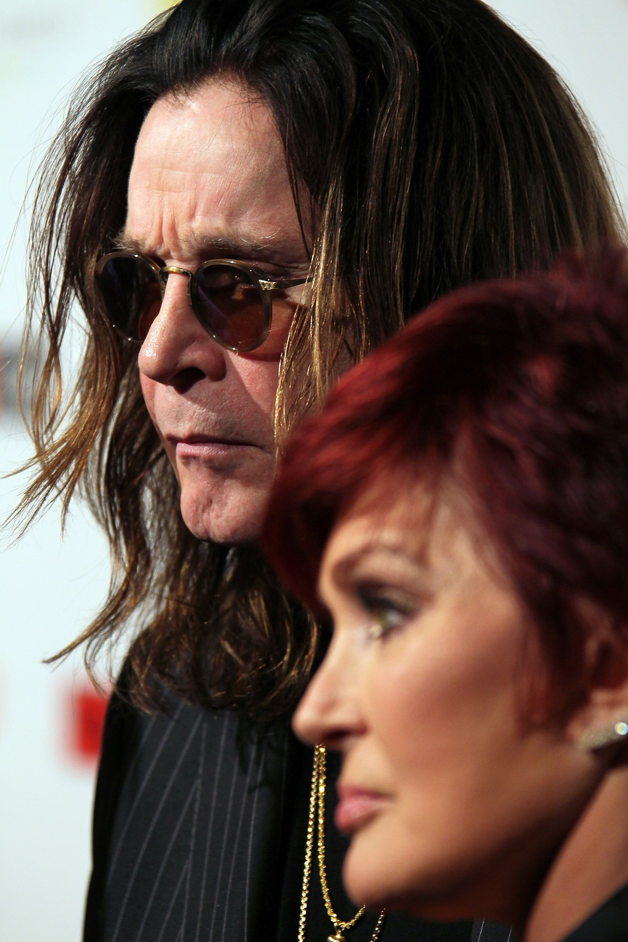 Osbourne and wife TV personality Sharon Osbourne attend the 10th Annual Classic Rock Awards. | Source: Getty Images