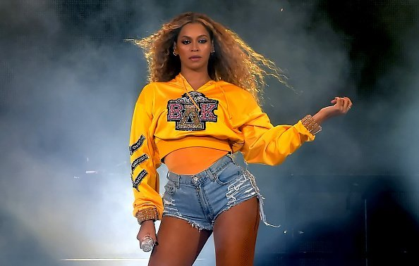 Beyonce Knowles at the Empire Polo Field on April 14, 2018 in Indio, California | Photo: Getty Images