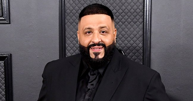 See the Rare Black & White Throwback Photo DJ Khaled Shared from His Childhood
