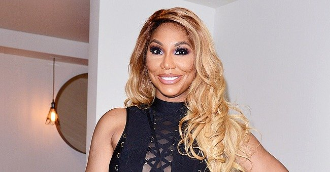 Tamar Braxton Shares New Photo of Ex-Husband Vince Herbert and Boyfriend David Adefeso Smiling Together