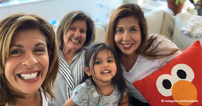 Hoda Kotb Shares a Touching Mother's Day Card From Her Two Daughters