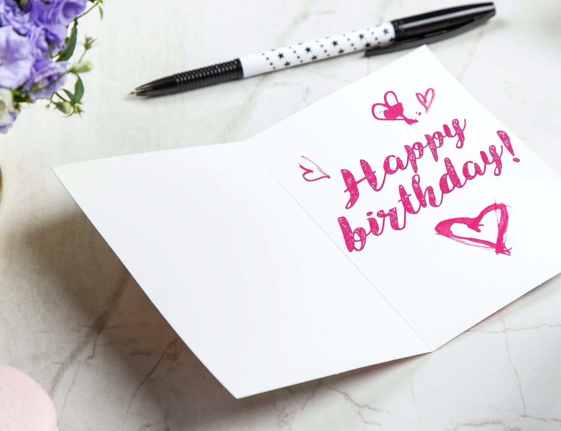A birthday card to send to Heaven   Source: Pexels