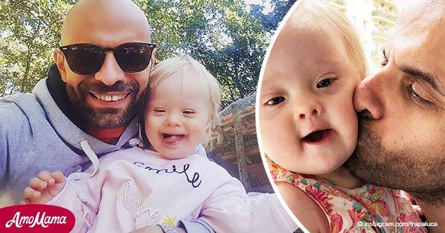 20 familias rechazaron a la bebé con Síndrome de Down, hasta que un amoroso padre decide adoptarla