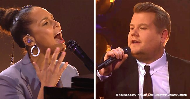 Alicia Keys & James Corden stun the audience with their parody of 'Shallow' from 'A Star Is Born'