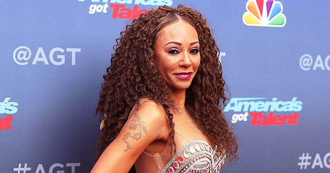 Mel B Shows off Her Natural Fro and Rock-Hard Abs in Two-Piece Swimsuit