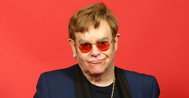 Elton John attends the 2021 iHeartRadio Music Awards, May 2021 | Source: Getty Images