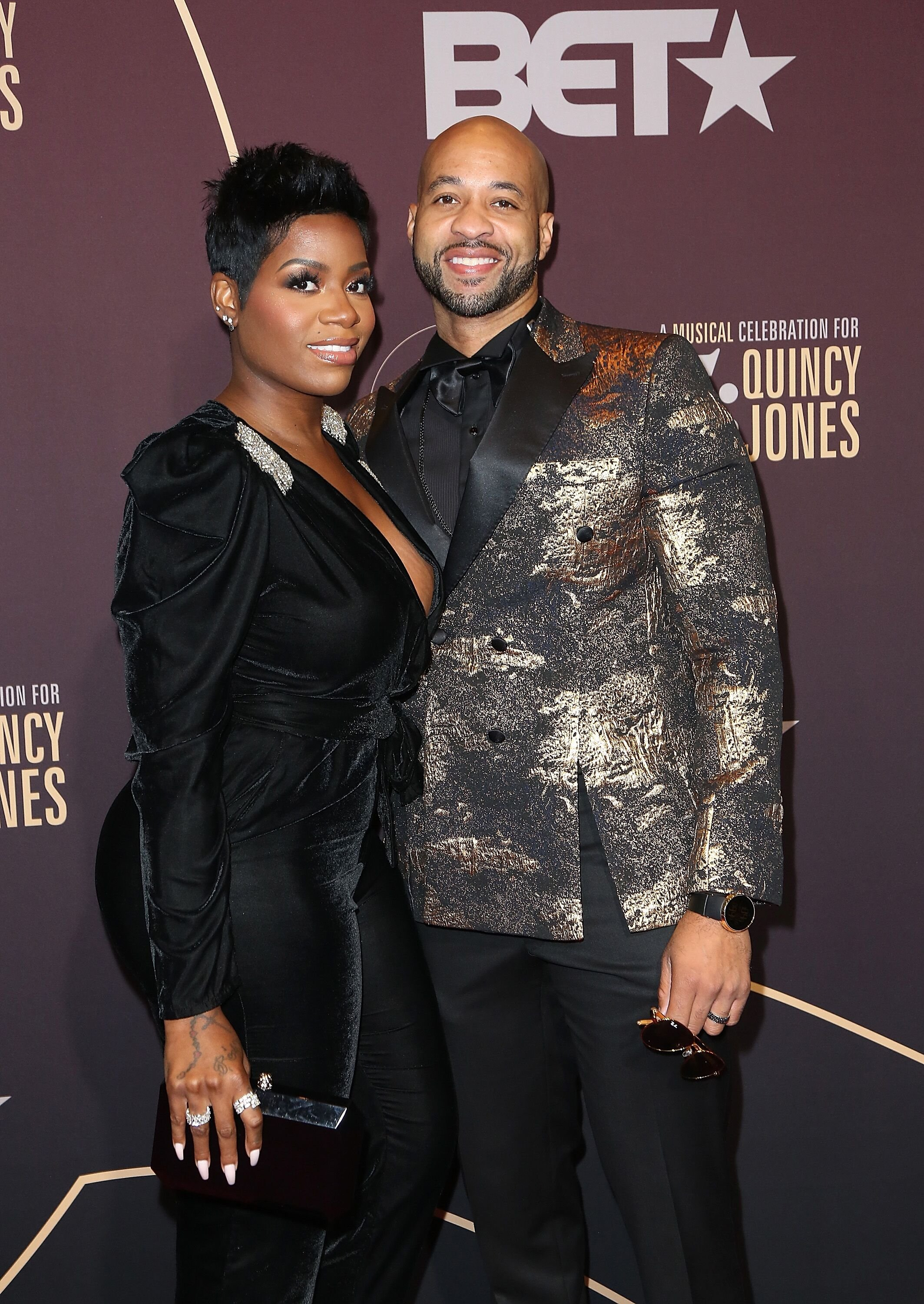 """Fantasia Barrino and Kendall Taylor arrive at """"Q 85: A Musical Celebration for Quincy Jones"""" on September 25, 2018 in Los Angeles, California 