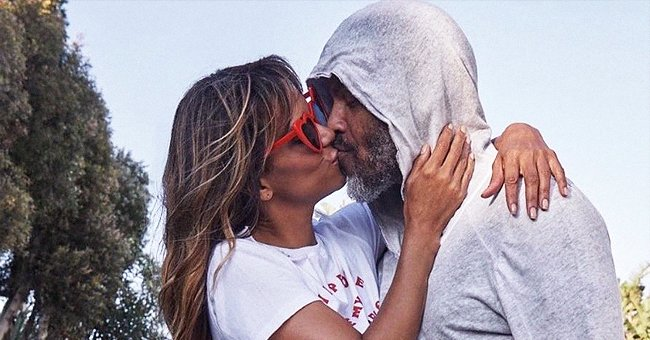 Halle Berry Flaunts Her Legs in a PDA-Filled Photo with Her New Boyfriend