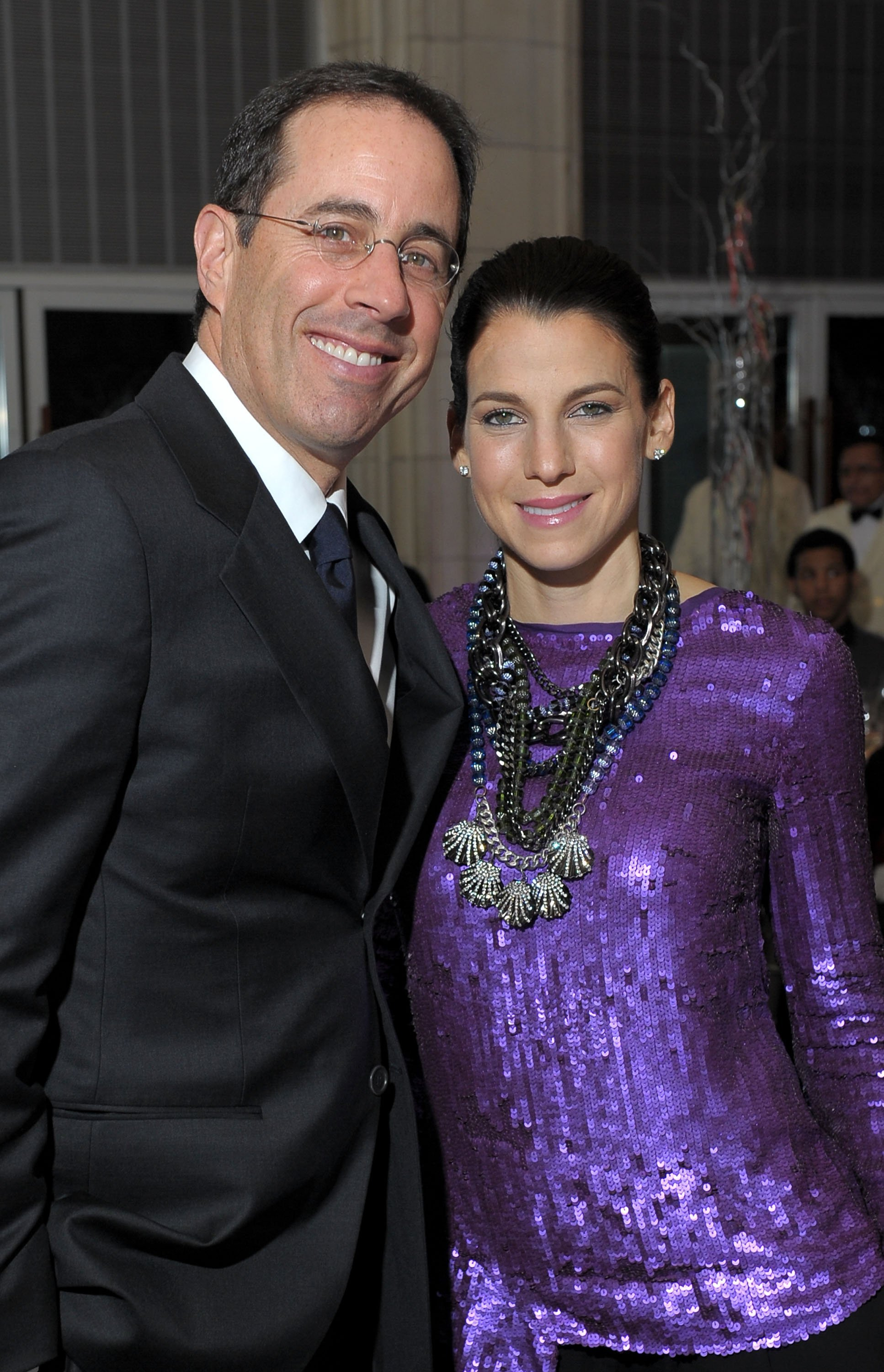 Jerry and Jessica Seinfeld. I Image: Getty Images.