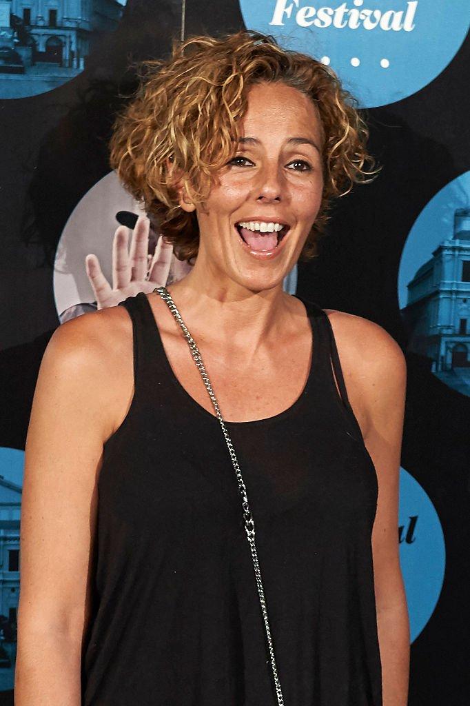 Roció Carrasco en el concierto de Miguel Poveda en el Teatro Real el 23 de julio de 2015 en Madrid, España.   Foto: Getty Images