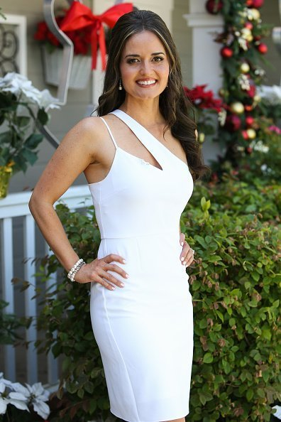 """Danica McKellar visits Hallmark Channel's """"Home & Family"""" at Universal Studios Hollywood in Universal City, California. 