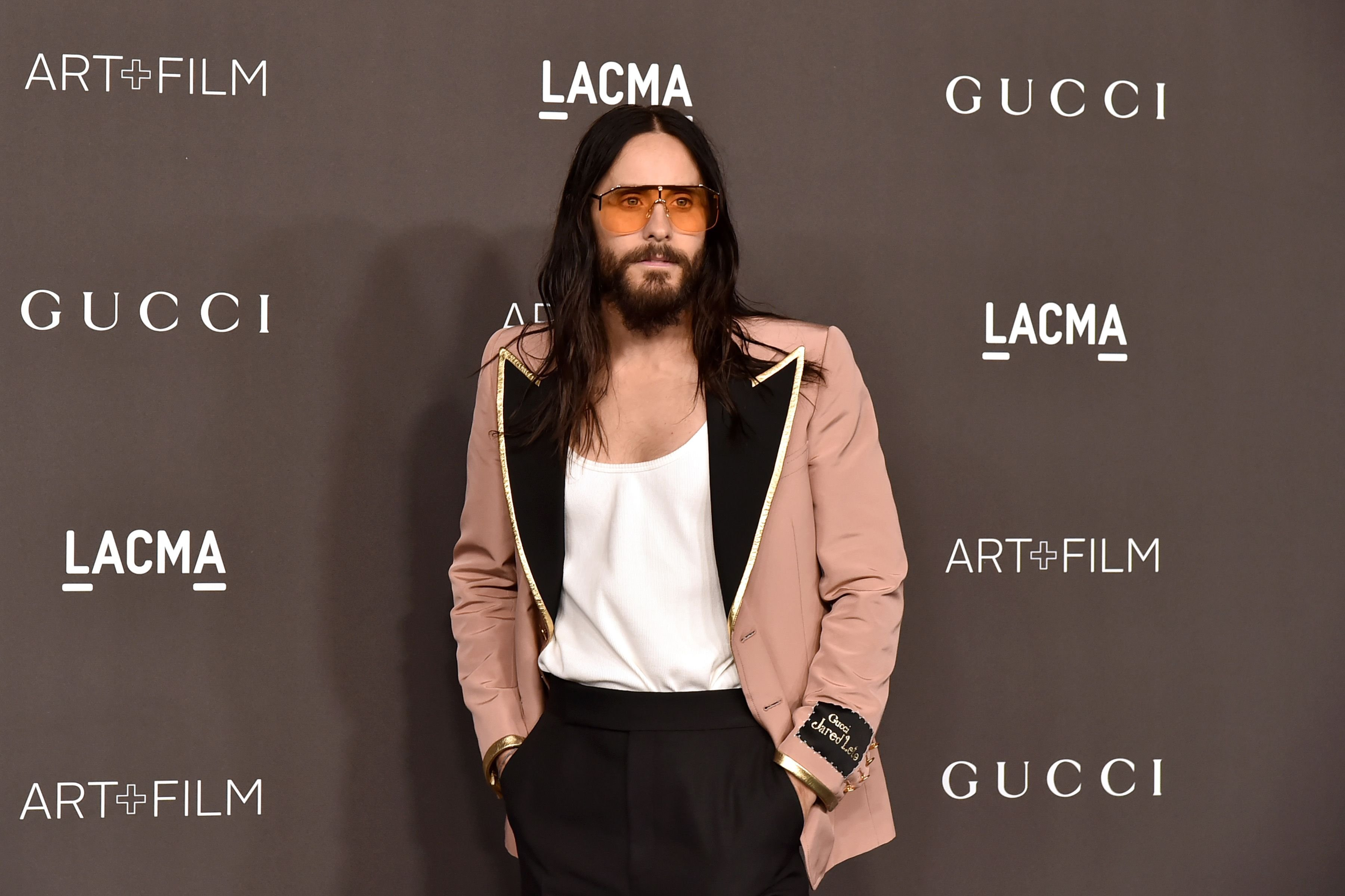Jared Leto at the 2019 LACMA Art + Film Gala at LACMA on November 02, 2019 in Los Angeles, California | Photo: Getty Images