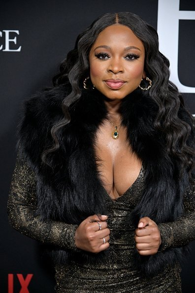 "Naturi Naughton attends Tyler Perry's ""A Fall From Grace"" New York premiere at Metrograph on January 13, 2020 in New York City 