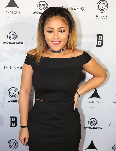 Chase Anela Rolison at the T-Boz Unplugged Benefit Concert in Hollywood, California.| Photo: Getty Images.