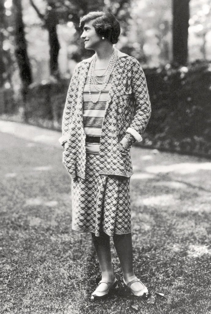 Coco Chanel dans sa jeunesse | Photo : Getty Images