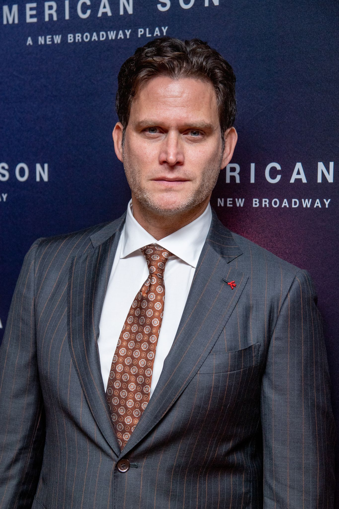 """Steven Pasquale at the opening night of """"American Son"""" in 2018 in New York City 