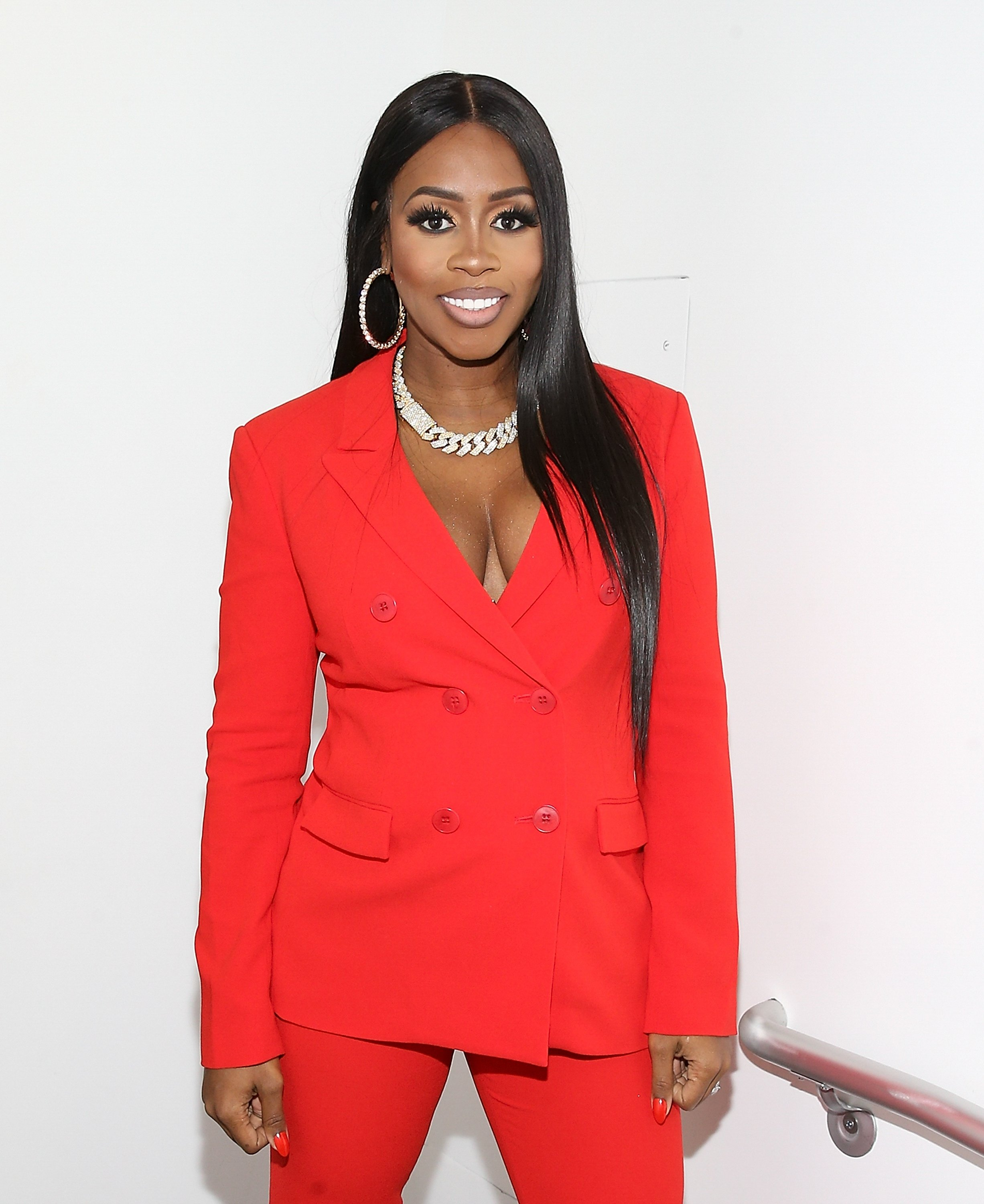 "Remy Ma at the ""Our Vote, Our Power"" Mid Term Election Special on Oct. 22, 2018 in New York City 