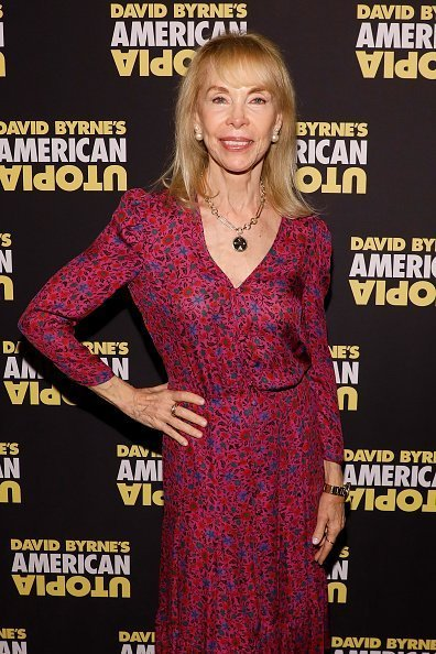 """Elaine Joyce attends the opening night of """"David Byrne's American Utopia"""" on October 20, 2019 