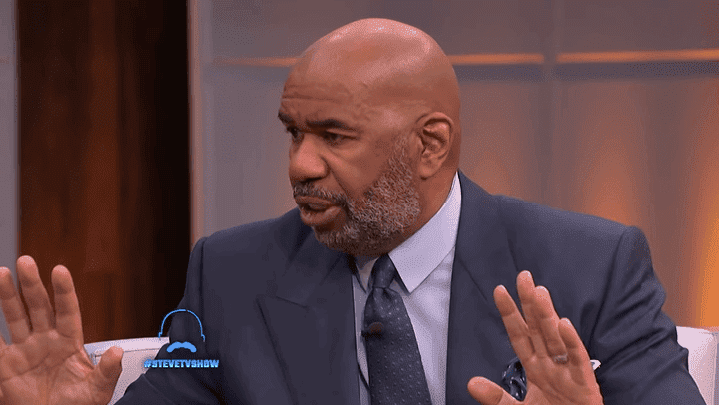 Steve harvey has caught fire on social media for his comments. | Source: YouTube/Steve TV Show