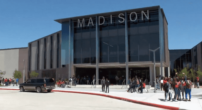 James Madison High School in Houston, Texas | Photo: Inside Edition