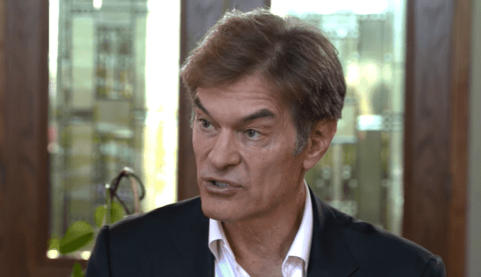 Dr. Oz warning Duane 'Dog' Chapman about his health | Photo: The Dr. Oz Show
