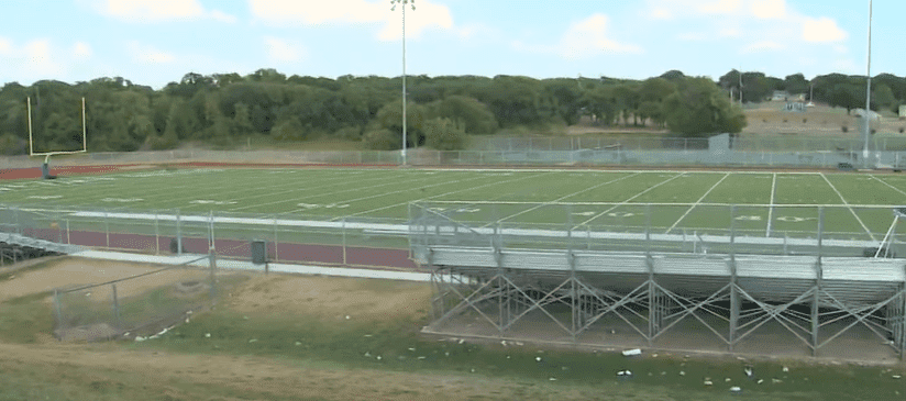 The football field at Eastern Hills High School in Fort Worth, Texas | Photo: WFAA