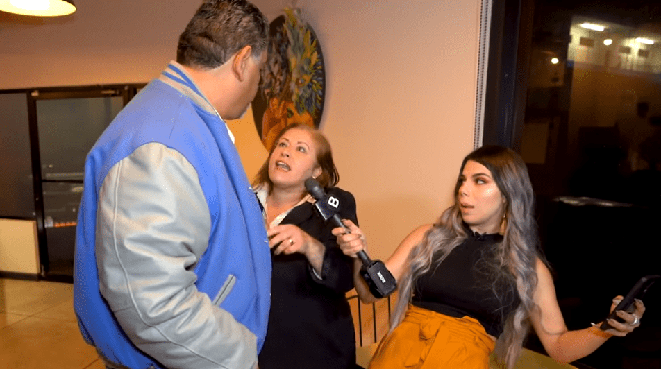 Olivia, Alejandro y Lizbeth Rodríguez en el programa 'Exponiendo Infieles'. | Imagen: YouTube/Badabun