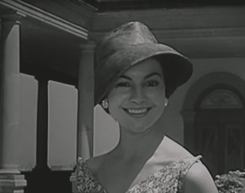 Rita Macedo, famosa actriz de la época de oro del cine mexicano.   Imagen: YouTube/Ventaneando