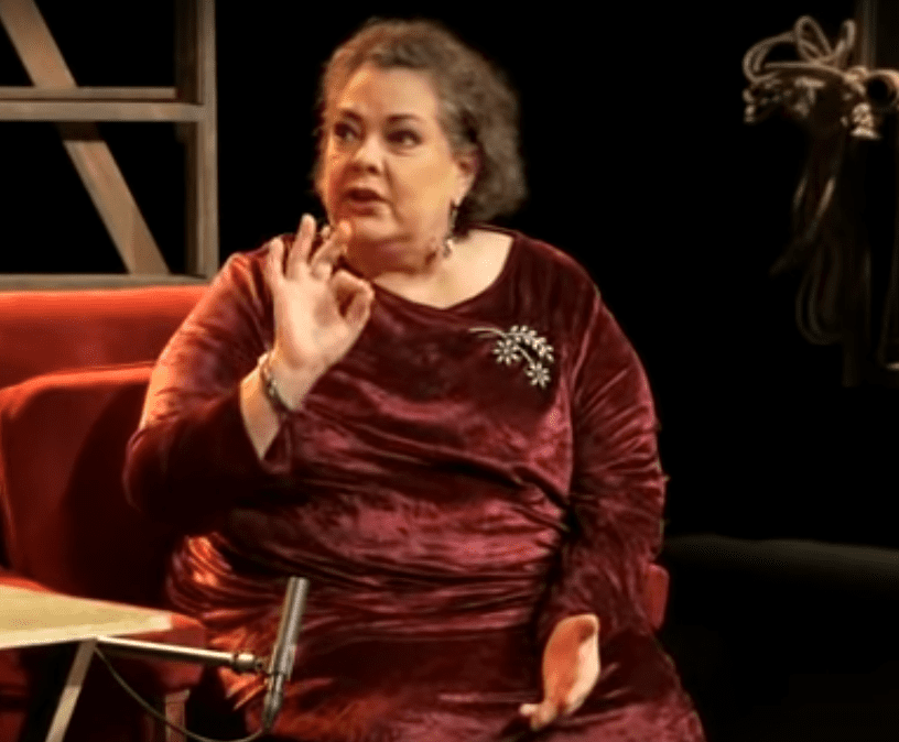 Delia Casanova. |  Imagen: YouTube/Canal Once